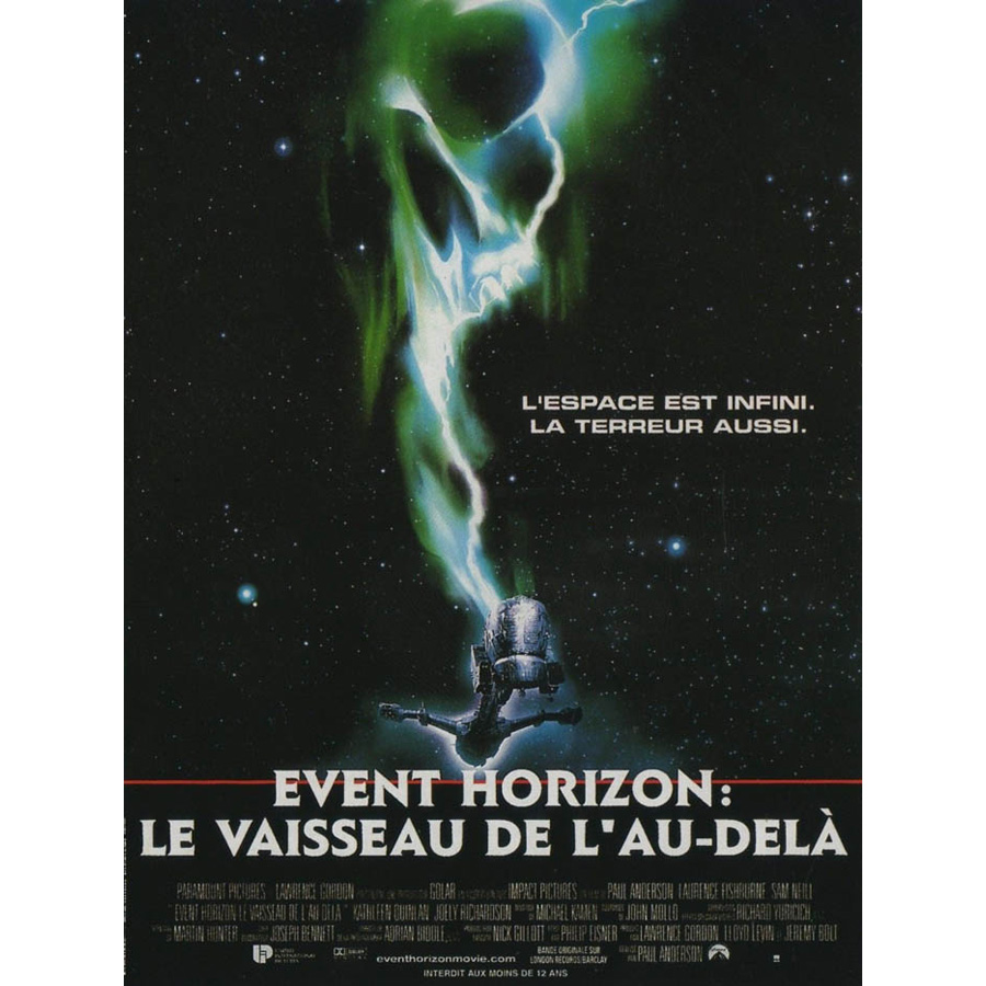24x36 poster design - J0680 Event Horizon 1997 Sam Neill Sci Fi Rare Version Movie Pop 14x21 24x36 Inches Silk Art Poster Top Fabric Print Home Decor