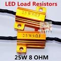 4 x  8ohm  25W   For  LED bulb  Turn Signal Fog Running Light   Load Resistor Fix Error Flash Canbus  Error  Free