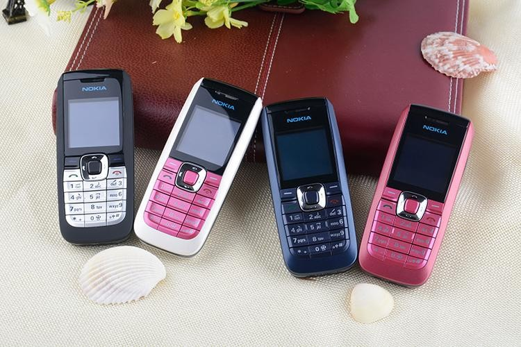 Refurbished Original Unlocked Nokia 2610 the Cheapest multi-language Cellphone white 4