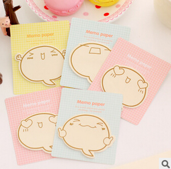 Cute Big Face N Times Sticky Notes Memo Pad Paper Sticker Notepad Gift Stationery Escolar Papelaria