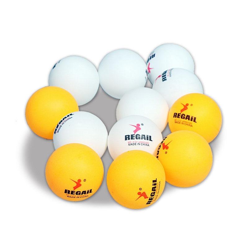 20 50 100pcs 3-Star 40mm Table Tennis Balls Ping Pong Ball White Orange Pingpong Ball  Amateur Advanced Training Ball
