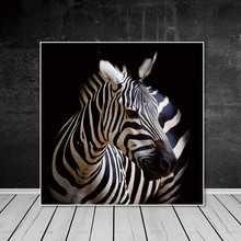 Animal canvas painting home decor wall art poster zebra print picture Art horse Prints no frame lion cat