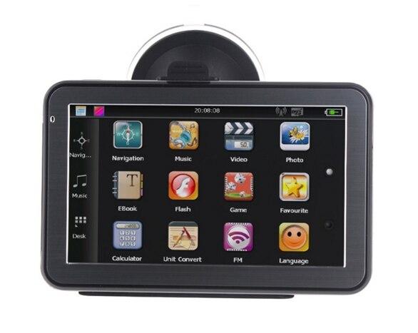 KMDRIVE 5-дюймовый автомобильный GPS-навигатор 256M/8G комплект бесплатных карт
