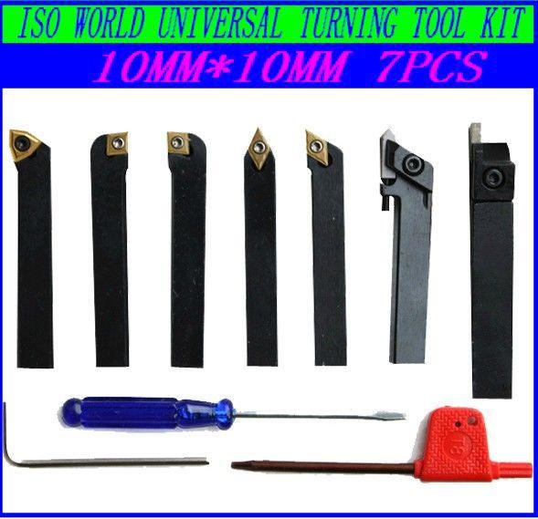 Plating titanium carbide /10MM*10MM CNC turning tool kits set,lathe kit cutting blade,cutter - ZHEJIANG RYAN TRADING store