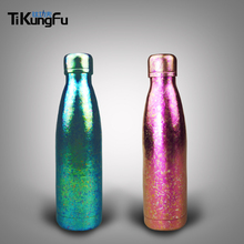 Tikungfu Titanium Thermos Vacuum Bottle Flask 500 ml Outdoor Travel Fashion Portable Coke Cup Lovers Combo Free Shipping