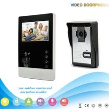 Xinsilu XSL-V43D11-L 1V1 XSL Manufacturer 4.3 Inch intercom system Handfree classical style video door phone for apartments