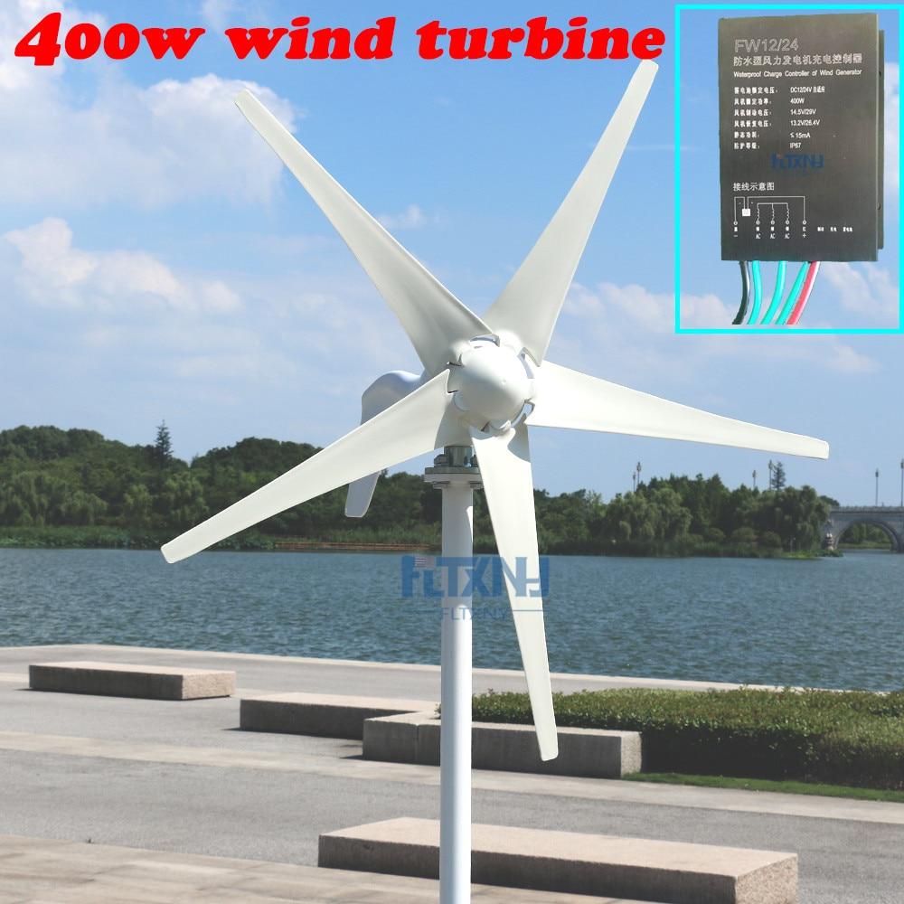 da9acbe7b3e 400 w tipo doméstico controlador de turbina eólica 12V24V auto  carregamento. trifásico AC gerador de imã permanente em Geradores de Energia  alternativa de ...
