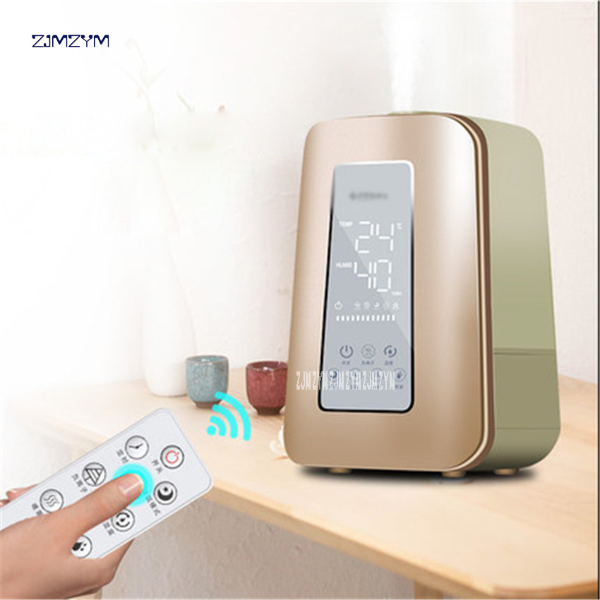 Industrious Mh-460 Intelligent Hot Fog Negative Ions Humidifier High Capacity Timing Humidifier 4.5l High-capacity Office Aromatherapy Small Air Conditioning Appliances Home Appliances