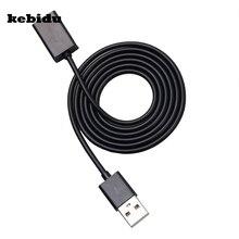 Kebidu USB 2.0 rozszerzenie męskie i żeńskie Adapter do kabla złącze przewód synchronizacji danych przewód przewód z 50cm 100cm na PC Laptop
