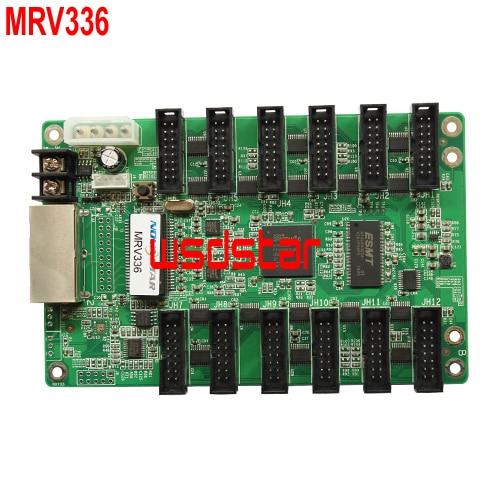 MRV336 1 32 Scan LED receiving card 256 226 12 HUB75E CE EMC RoHS standard Work