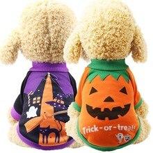Одежда для кошек на Хэллоуин, карнавал, забавная одежда для домашних животных, зимняя куртка, собачий костюм для Хэллоуин для маленьких собак, кошек, одежда для двух ног