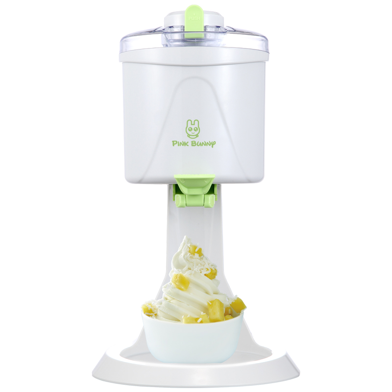 220V Automatic Fruit Ice Cream Machine Children DIY Soft Ice Cream Maker Ice Cream Cones Maker For Gift EU/AU/UK/US Plug eu popular soft serve ice cream maker machine desk top ice cream machine for sale