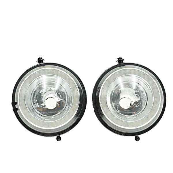 Mini Cooper LED Halo Angel Eyes Style DRL Daytime Running Fog Lights Lamps Assembly For Mini Cooper R55 R56 R57 R58 R59 R60 R61 цена