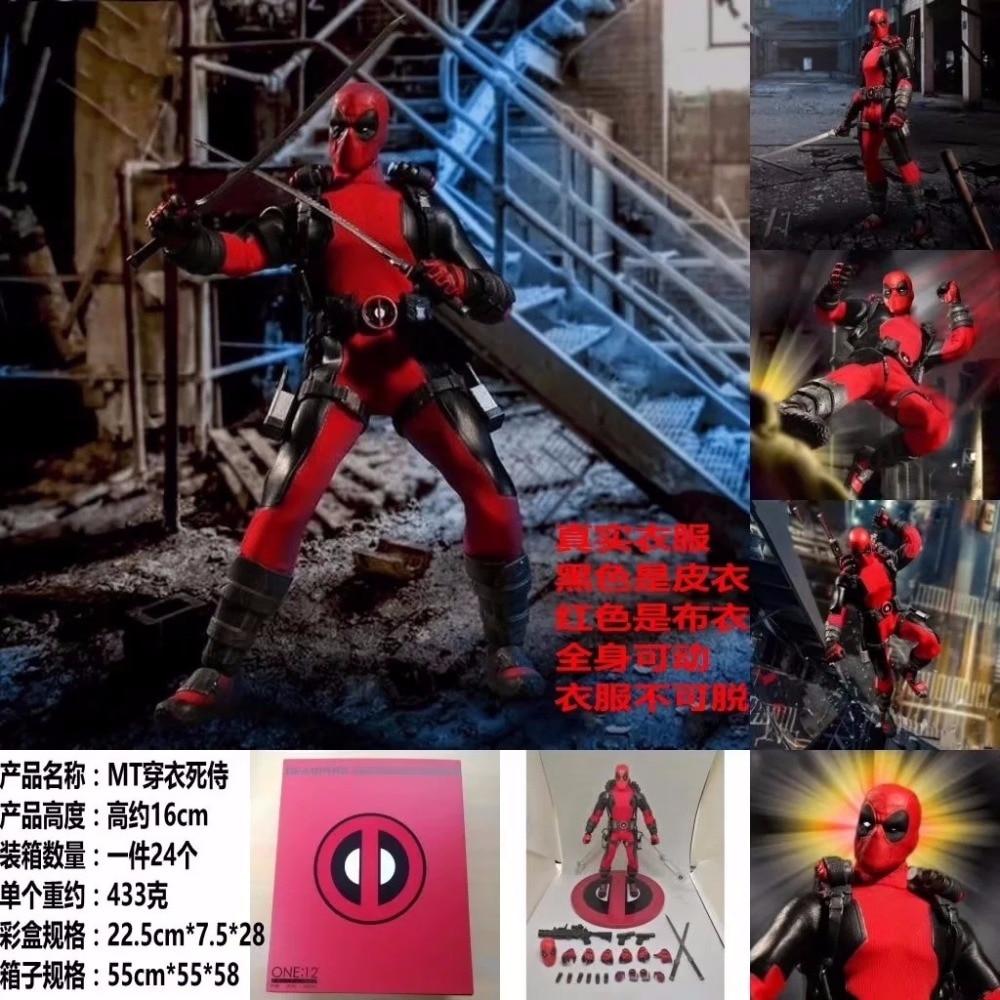 X-Men One: 12 Deadpool Anti-Hero 6-Inch Clothes Dead Candy Model HandlX-Men One: 12 Deadpool Anti-Hero 6-Inch Clothes Dead Candy Model Handl