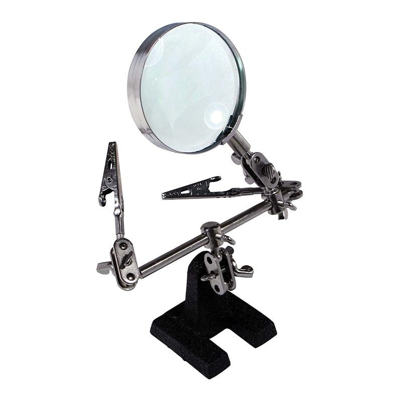 Craft Light Magnifier Clip Stand