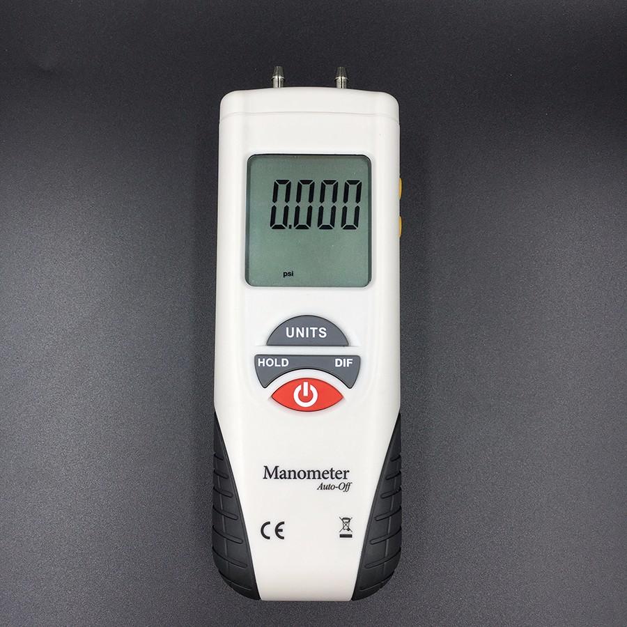 LCD HT-1890 Digital Manometer Air Pressure Meter