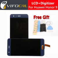 Hacrin Huawei Honor 9 LCD Display Touch Screen Digitizer Assembly Replacement Accessories For 5 15inch Honor9