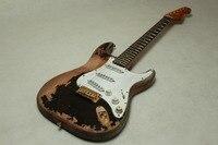 Michael Landau Firma 1968 ST Relic envejecido hardware guitarra eléctrica cuerpo de caoba