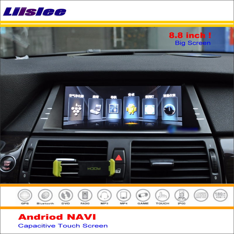 Liislee Car Android GPS Navi Navigation System For BMW X5 / X6 E70 2007~2014 Radio Stereo Audio Video Multimedia No DVD Player