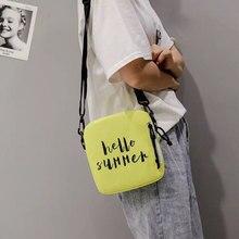 2019 New Womens canvas crossbody bag mini shoulder Messenger ladies Swagger shopping travel handbag