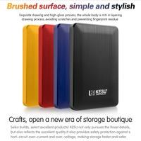 Кесу 1 ТБ usb 3,0 внешний жесткий диск HDD 2 ТБ 500G высокого диско для внешних HDD usb оригинальный запоминающее устройство симпатичный usb флэш-накопи...