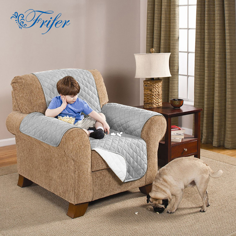 Waterproof Single Seater Suede Pet Dog Couch Sofa