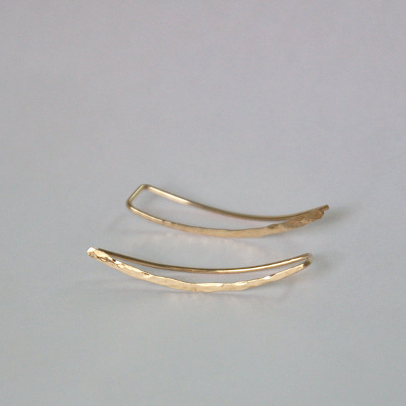Crawler Climber Bar Cuff Earrings For Women