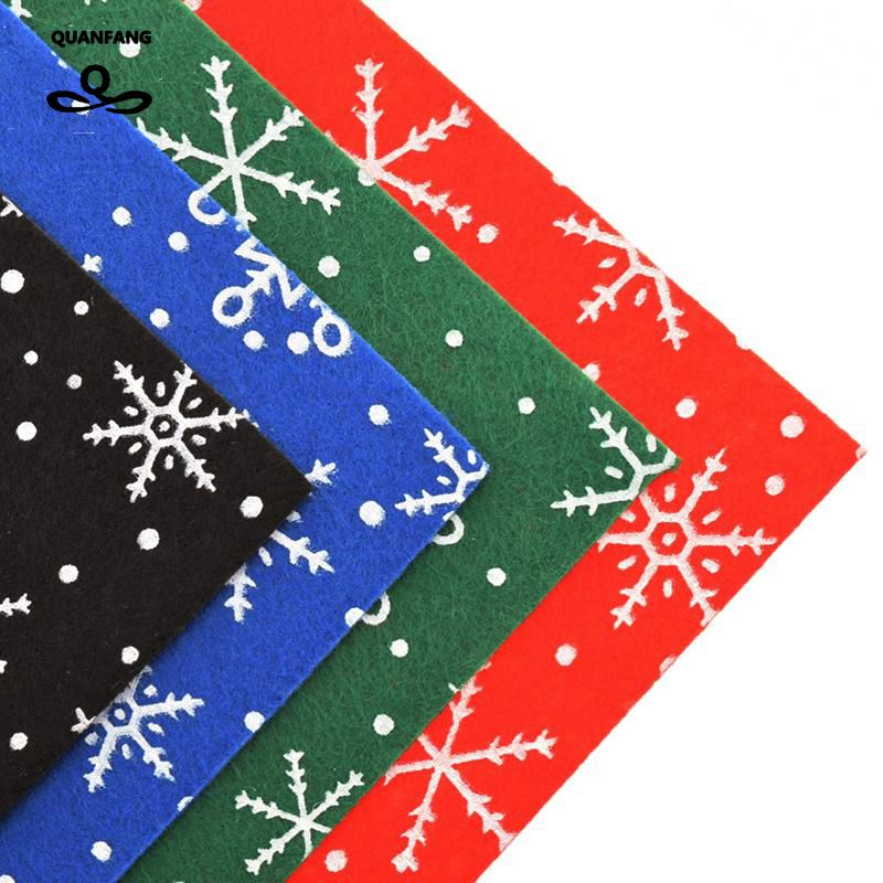 1mm poliester tkanina akrylowa filc na świąteczne dekoracje - Sztuka, rękodzieło i szycie - Zdjęcie 1