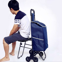 2016 Manufacturers Supermarket The Shopping Basket Folding Hand Pulled Trolley Luggage Shopping Cart