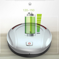 Newly Smart Vacuum Cleaner Robot Ultra-slient Automatic Wipping Floor Cleaner for Carpet VA88