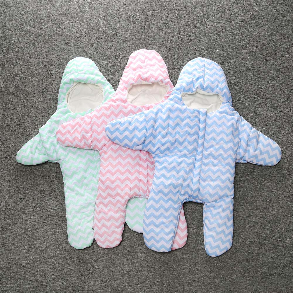 Soft Sea Star Shape Baby Infant Newborn Swaddle Cotton Sleeping Bag