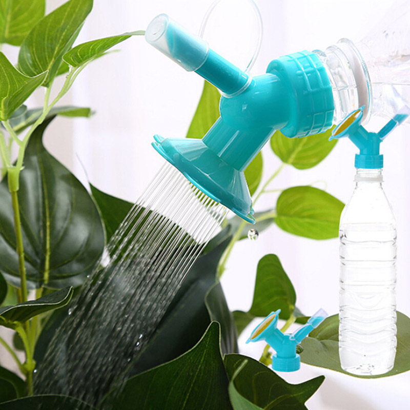 Watering & Irrigation Home & Garden Industrious 1pc New Water Can Garden 2in1 Plastic Sprinkler Nozzle Mini Screw Cap Spout For Flower Waterers Bottle Watering Cans Sprinkler
