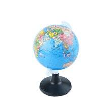 Новинка, 85 мм, глобус мира, атлас, карта с поворотной подставкой, географическая развивающая игрушка, для дома, офиса, идеальные миниатюры, подарок, офисные гаджеты