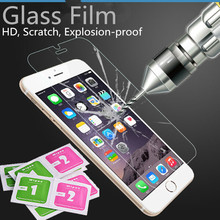 For film iphone 6s 7 Tempered Glass film on the iphone 6s Screen Protector Toughened Protective Glass on the For iphone 6 glass