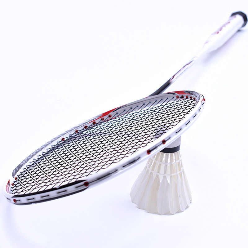 67-69g Ultralight Professional Carbon Fiber Badminton Rackets Raquette 7u Rackets Z Speed Force Padel