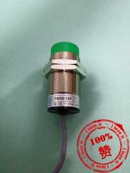 New Original Inductive Cylindrical Proximity Switch PM30-15PNP
