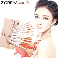 ZOREYA Makeup Brushes 10pcs Classic Soft Synthetic Professional Cosmetic Makeup Foundation Powder Blush Eyeliner Brush Pinceau