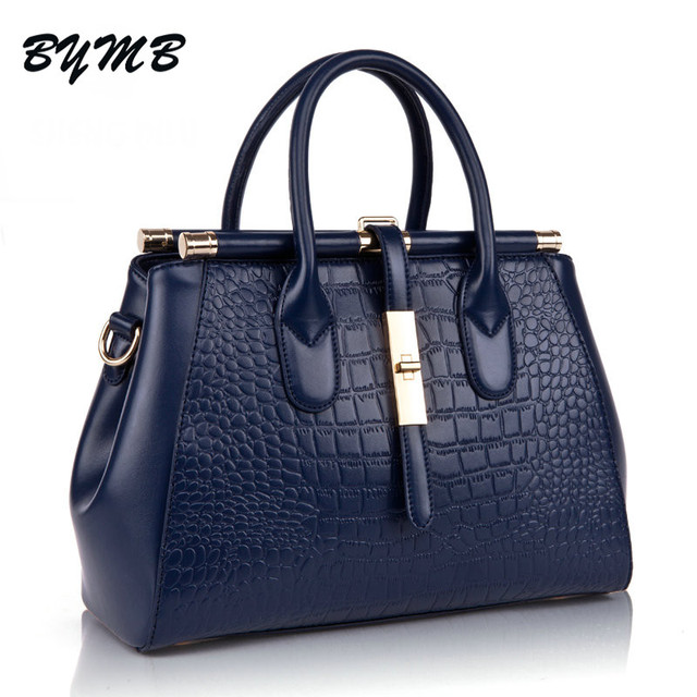c25f4e1ff0d0 2018 Crocodile Women Bag Big Luxury Elegant Top Handle Bags Brand Women  Designer Handbags Alligator Genuine