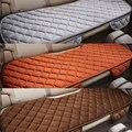 Veludo de seda Veículo Longo Tampa Da Cadeira Mat Almofada Do Assento Traseiro Do Carro Auto Universal