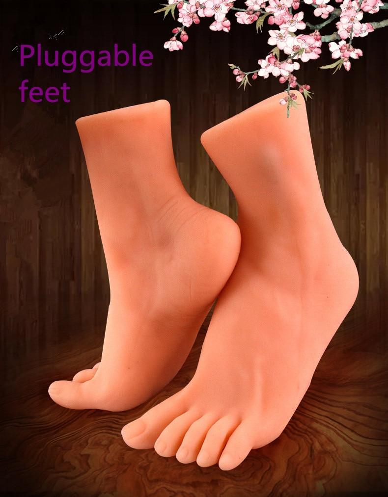 New insertable 3D foot vagina Sex Toys for Men pocket pussy Male Masturbator masturbateur homme masturbate