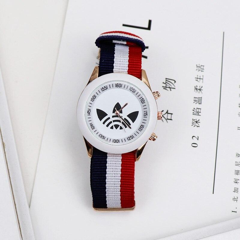 Montre Femme 2019 New Sport Quartz Wristwatch Fashion Casual Women Watches Men Geneva Brand Nylon Belt Watch Relogio Masculino