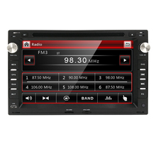 Double 2Din 7 Inch In-Dash Car Stereo DVD Player Radio for PASSAT SEAT SKODA with GPS Bluetooth 3G SD USB iPod Touch Screen