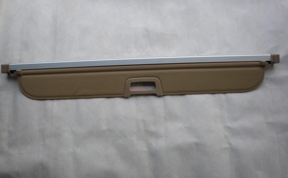 Aluminium alloy + Fabric Rear Trunk Security Shield Cargo Cover For BMW X5 E70 2008 2009 2010 2011 2012 2013 car rear trunk security shield cargo cover for bmw x5 e53 1998 1999 2000 2001 02 03 2004 2005 2006 high qualit auto accessories