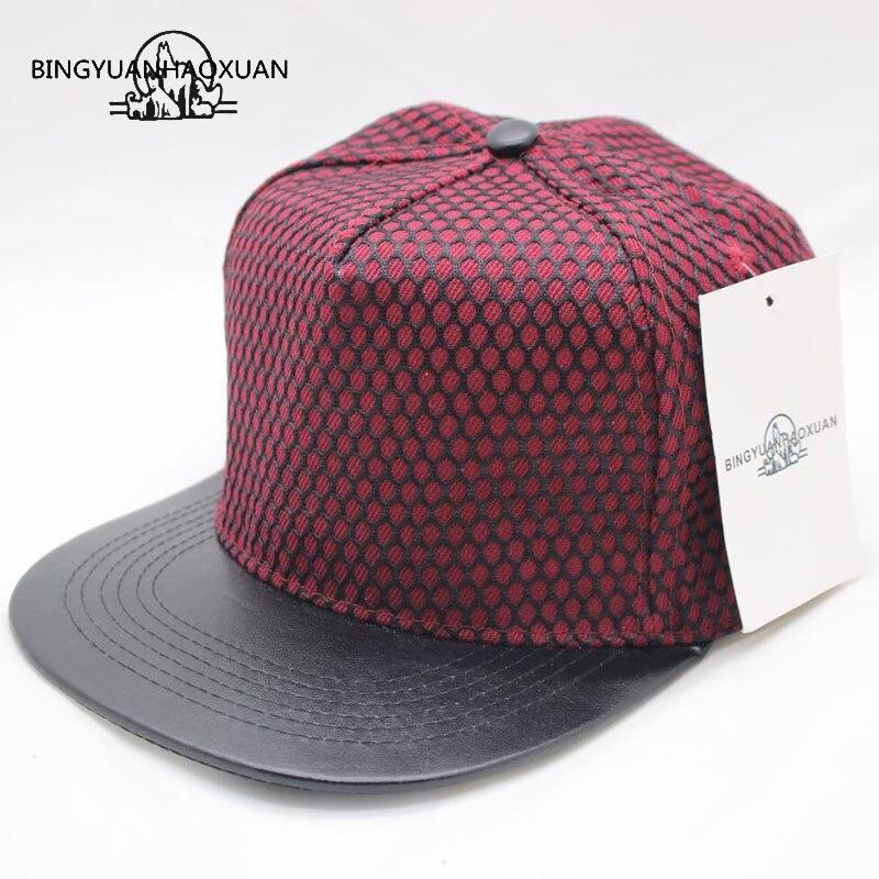 BINGYUANHAOXUANHigh Quality Snapback Cap Baseball Cap Hat Gorras Planas Flat Hip Hop Gorras for Men Women Casquette Chapeu Touca