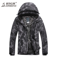 2017 Winter Ski Jacket High Experience Men Snowboard Jacket Snow Waterproof Warm Thermal Mountain Skiing Suit for Men