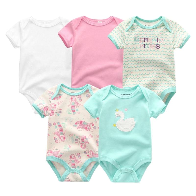 HTB17jCyeLWG3KVjSZFgq6zTspXas 5PCS/LOT Unisex Top Quality Baby Rompers Short Sleeve Cottom O-Neck 0-12M Novel Newborn Boys&Girls Roupas de bebe Baby Clothes