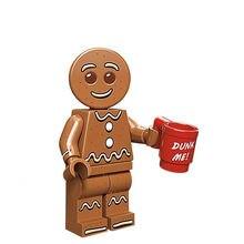 Xinh Single Sale Gingerbread Mansausage Banana Santa Claus Batman Building Block Figures Toys Compatible With LegoINGly