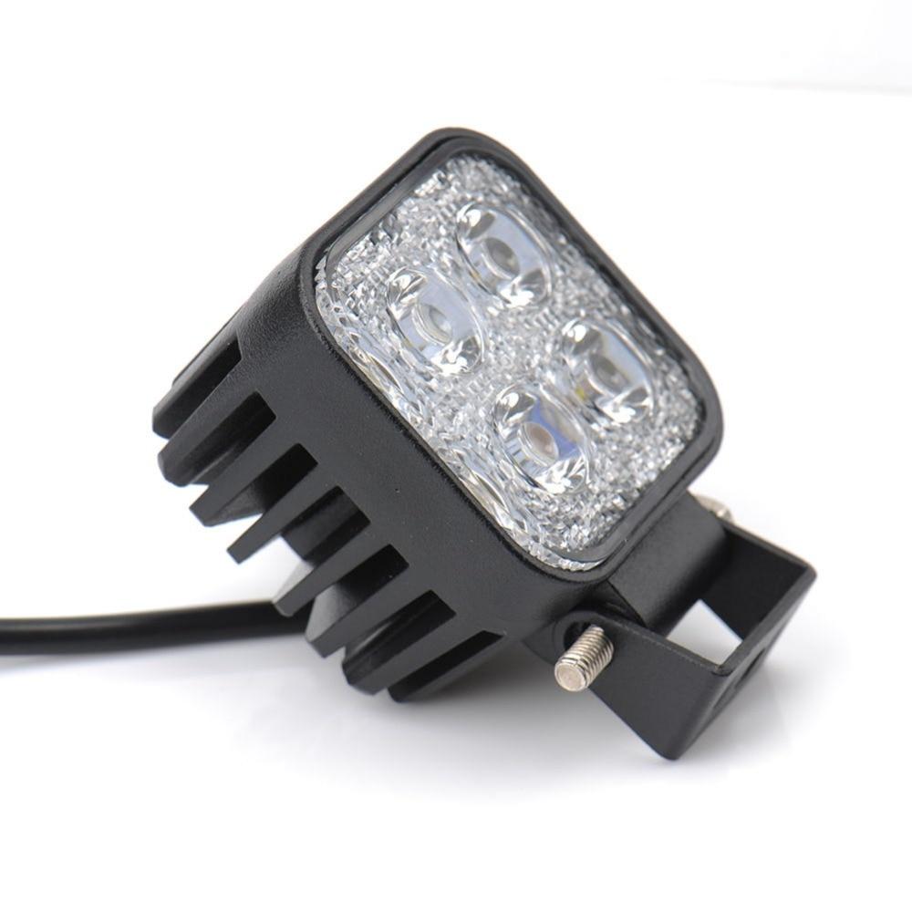2Pcs Mini 6 ιντσών 12W 4x3W αυτοκίνητο LED φως - Φώτα αυτοκινήτων - Φωτογραφία 4