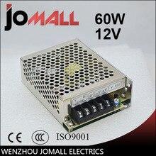 Envío Shipping60w12v conmutación fuente de alimentación AC220V a CC 12 V 5A 60 W-12 V led 12 v potencia suministro de fuente de alimentación de conmutación de alimentación