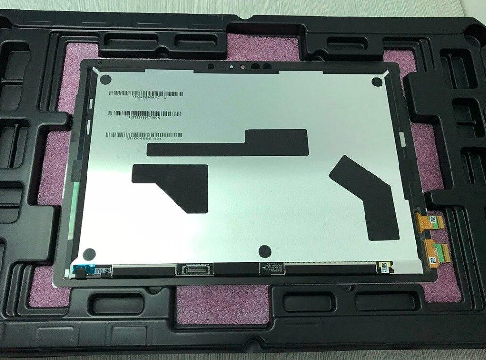 Original pour Microsoft surface pro5 pro 5 modèle 1796 LP123WQ1 lcd écran tactile verre capteur numériseur tablette assemblée